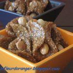 Babouches au sésame et miel : Petites gourmandises orientales