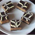 carrés gourmands aux deux chocolats : Pâtisserie marocaine