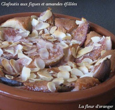 Clafoutis figues amandes