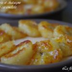 Crème de riz et châtaignes / Bananes caramélisées