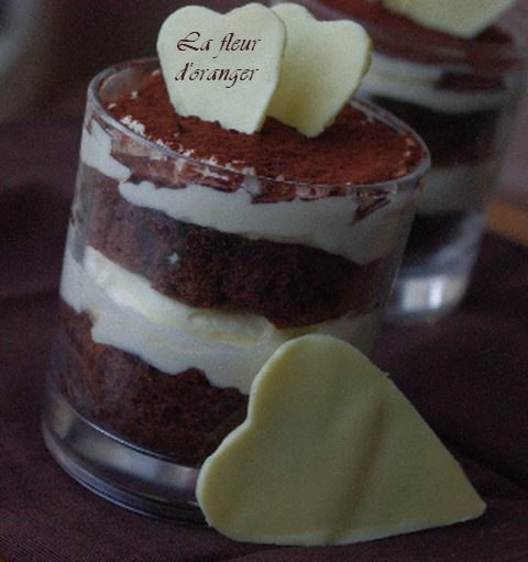 Tiramisu chocolat et sirop de cardamome