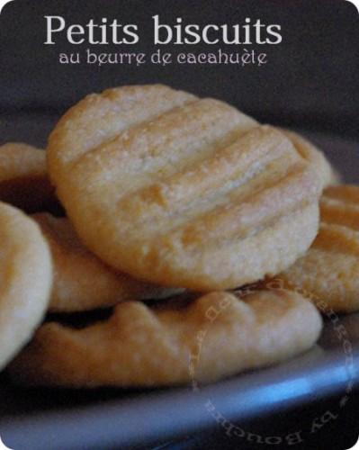 Biscuits au beurre de cacahuète, votez pour ce blog