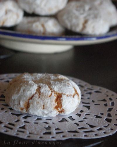 ghriyba aux amandes : gâteaux aux amandes