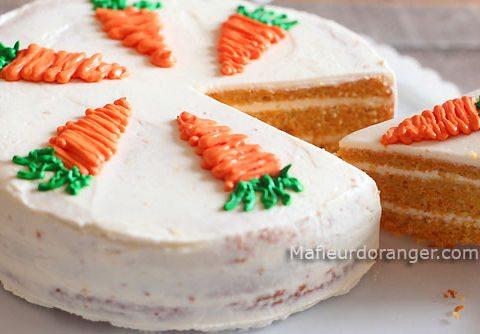 Gâteau aux carottes sans beurre ni farine !