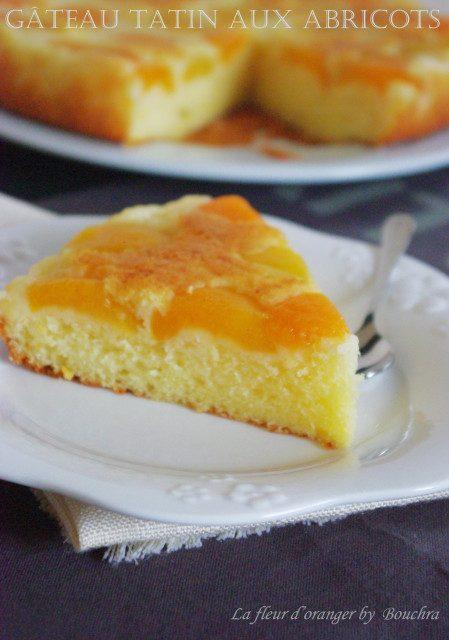 Gâteau tatin aux abricots