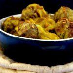 Curry de boulettes de boeuf : Un p'tit detour en Inde !