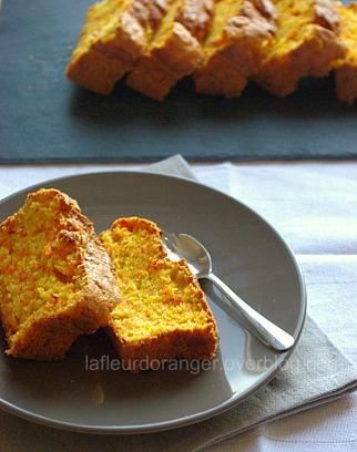 Gâteau aux carottes et noix de coco