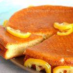 Biscuit mousseline au citron