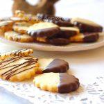 Biscuits sablés au citron et chocolat