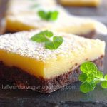 Lemon bars (citron / chocolat)