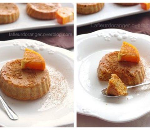 Gâteau aux carottes, orange et cannelle