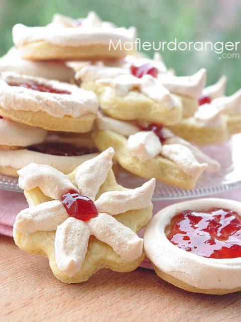 Biscuits sablés à la meringue