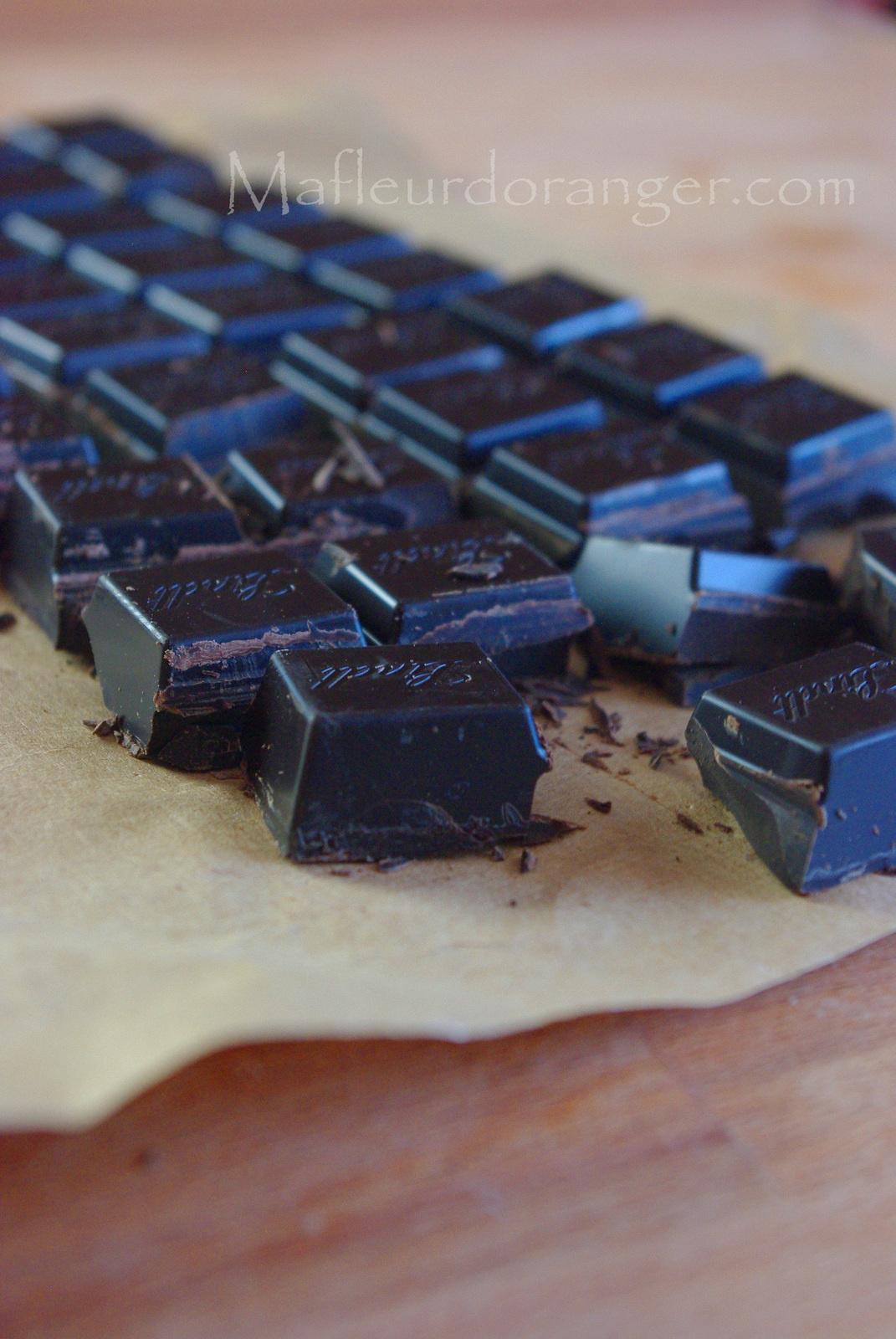 Briouates au chocolat