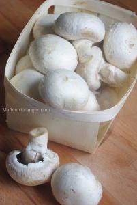 Feuilletés aux champignons