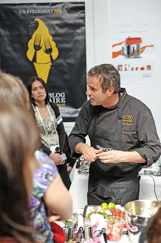 Salon des blogs culinaires et Flan d'asperges blanches