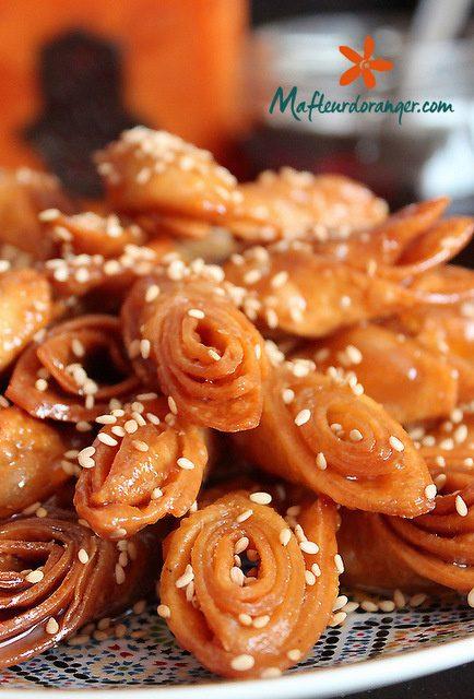 Petits gâteaux au miel pour le ramadan