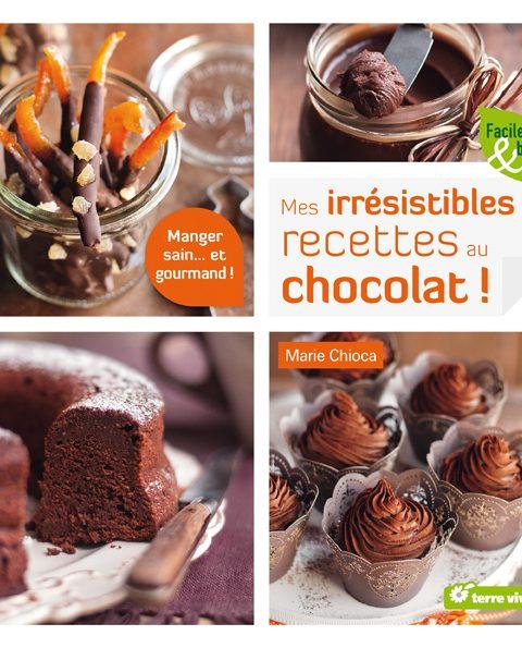 Des livres de cuisine à gagner : Mes irrésistibles recettes bio au chocolat !