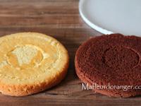 Comment faire un gâteau damier sans le moule spécial damier ..