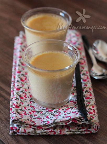 Crème au lait d'amande
