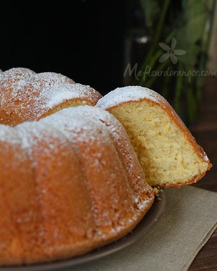 Gâteau à l'orange très leger