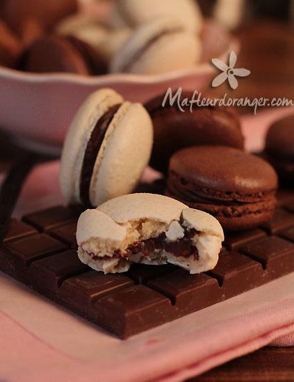 Macarons faciles à la vanille et au chocolat