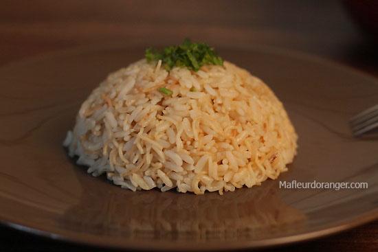 Riz Pilaf turque