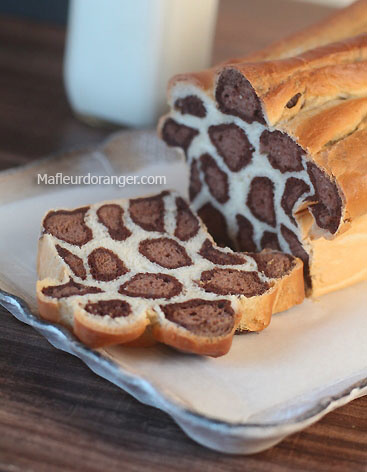 Brioche léopard