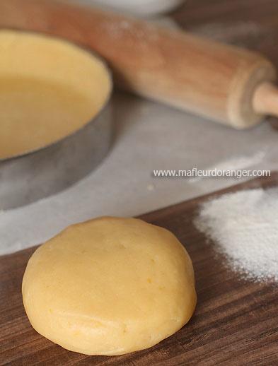 Pâte sucrée pour tarte sucrée