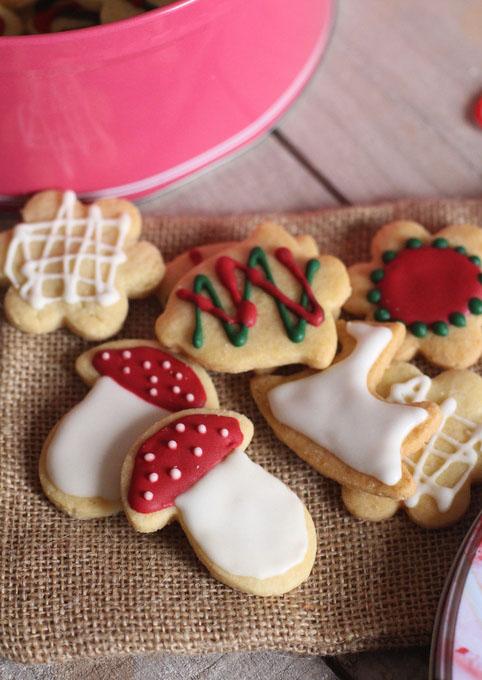 Biscuits Sables Et Leur Glacage Royal
