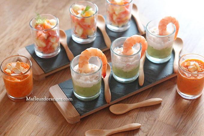 Trio de verrines sal es - Verrine simple et rapide ...