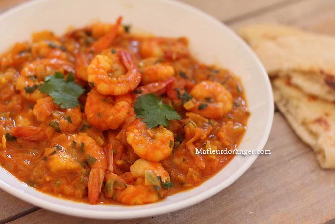 curry de crevette