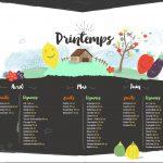 Calendrier des fruits et légumes de saison !