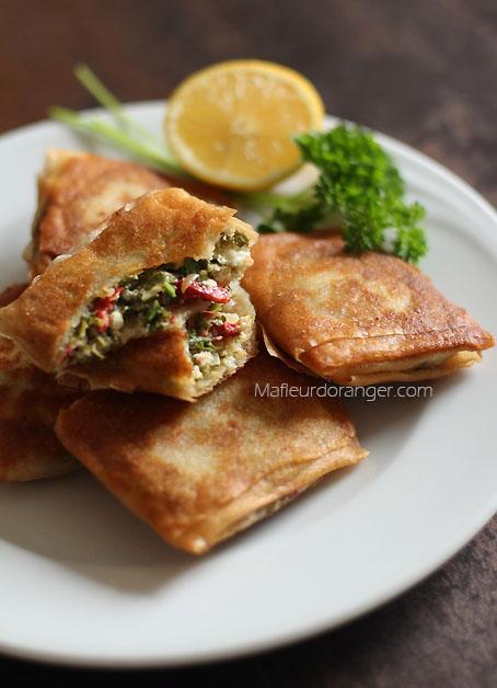 bourek au fromage et persil