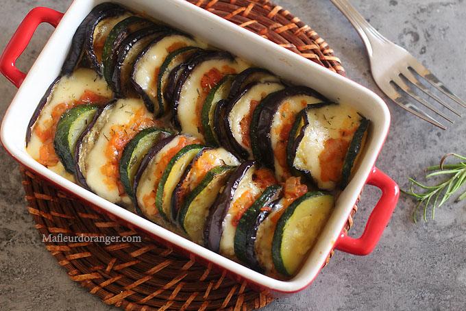 gratin légumes de soleil