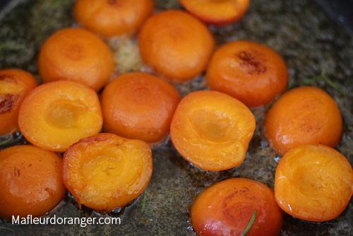 abricot caramélisé