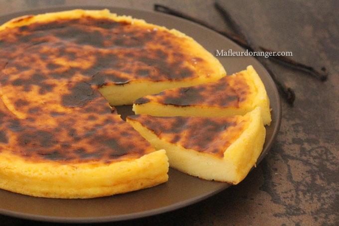 flan à pâtissier de michalak
