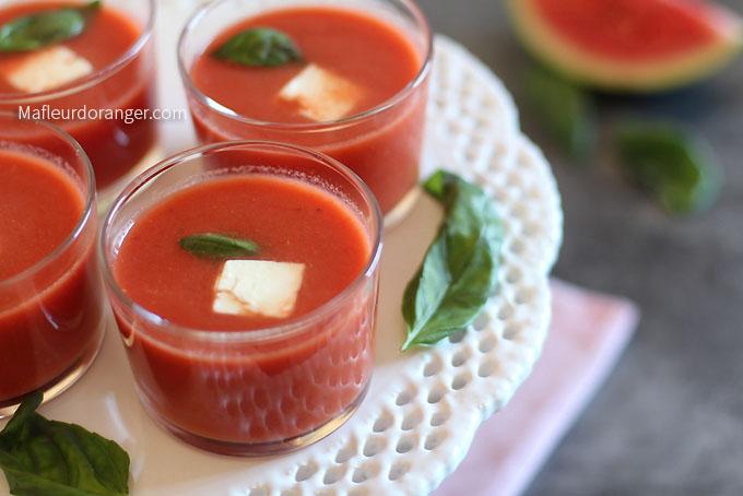 soupe tromate et pasthèque