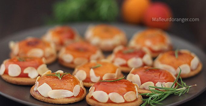 Tartelettes  aux abricots rapides et sans four !