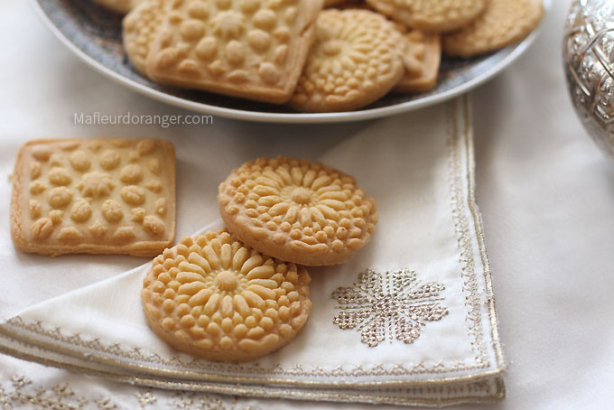 biscuis sablés arabesques
