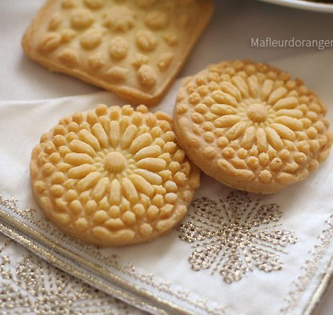 Biscuits sablés avec décoration arabesque !