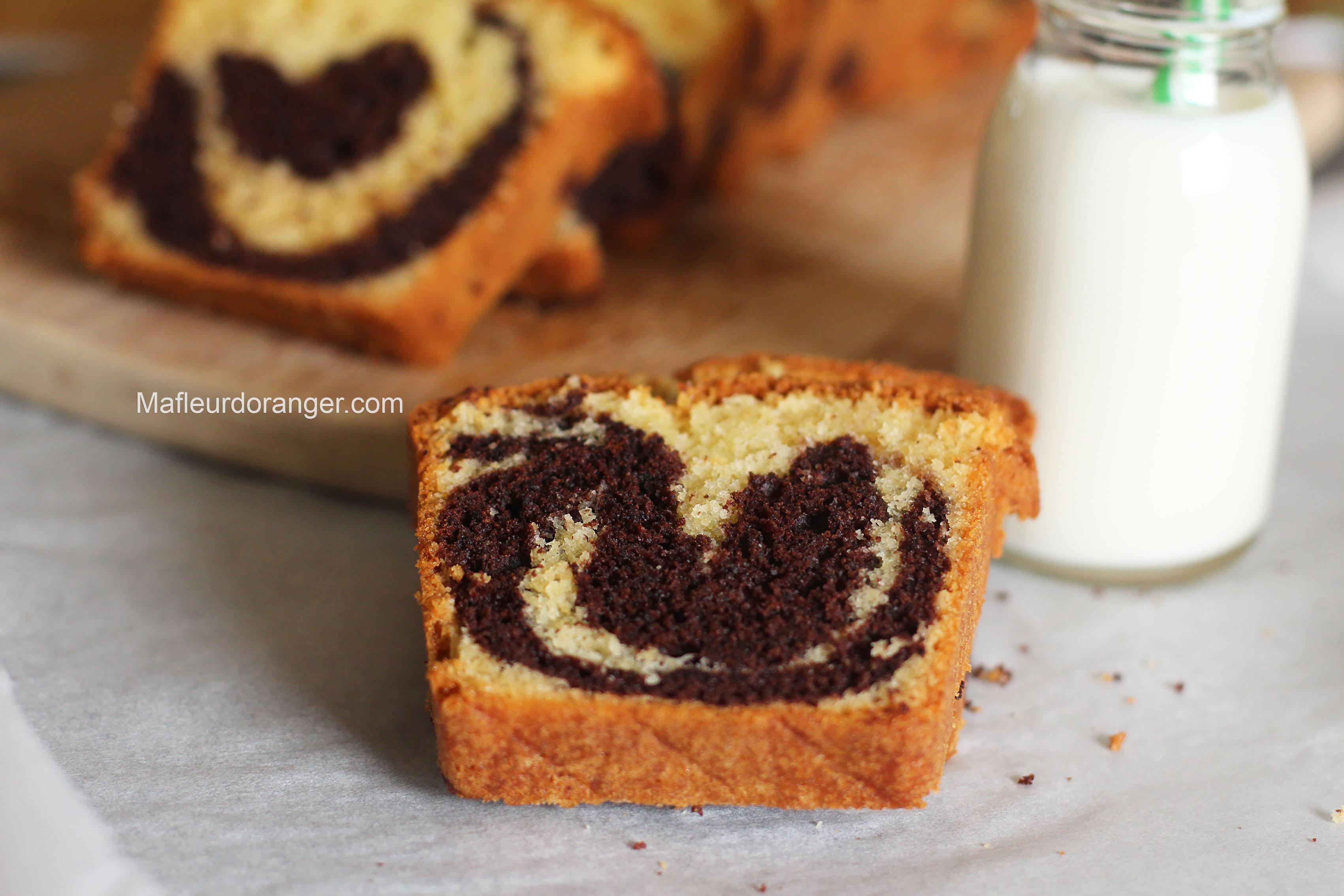 Recette Du Cake Marbr Ef Bf Bd Vanille Chocolat