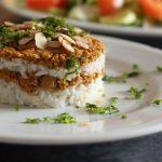 Curry de viande hachée et riz