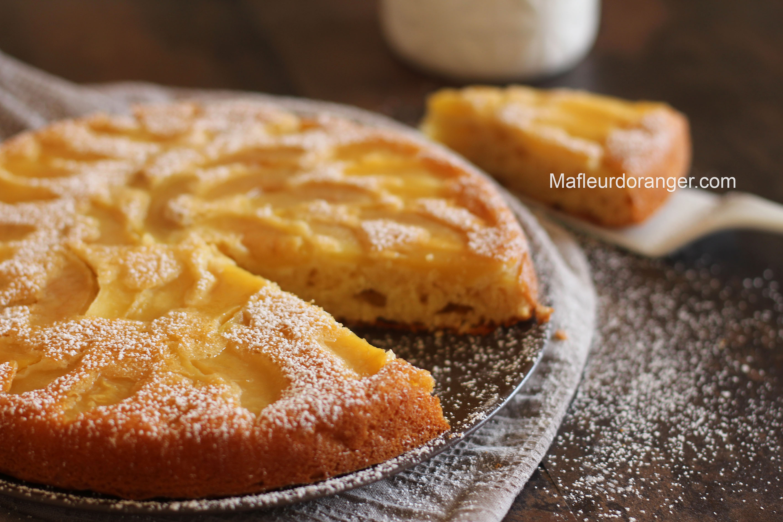 gâteau au pommes