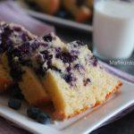 Cake au citron et myrtilles