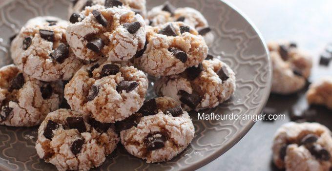 Ghriyba-cookies aux amandes, noix de coco & chocolat !