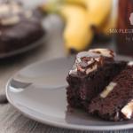 Moelleux au chocolat et banane