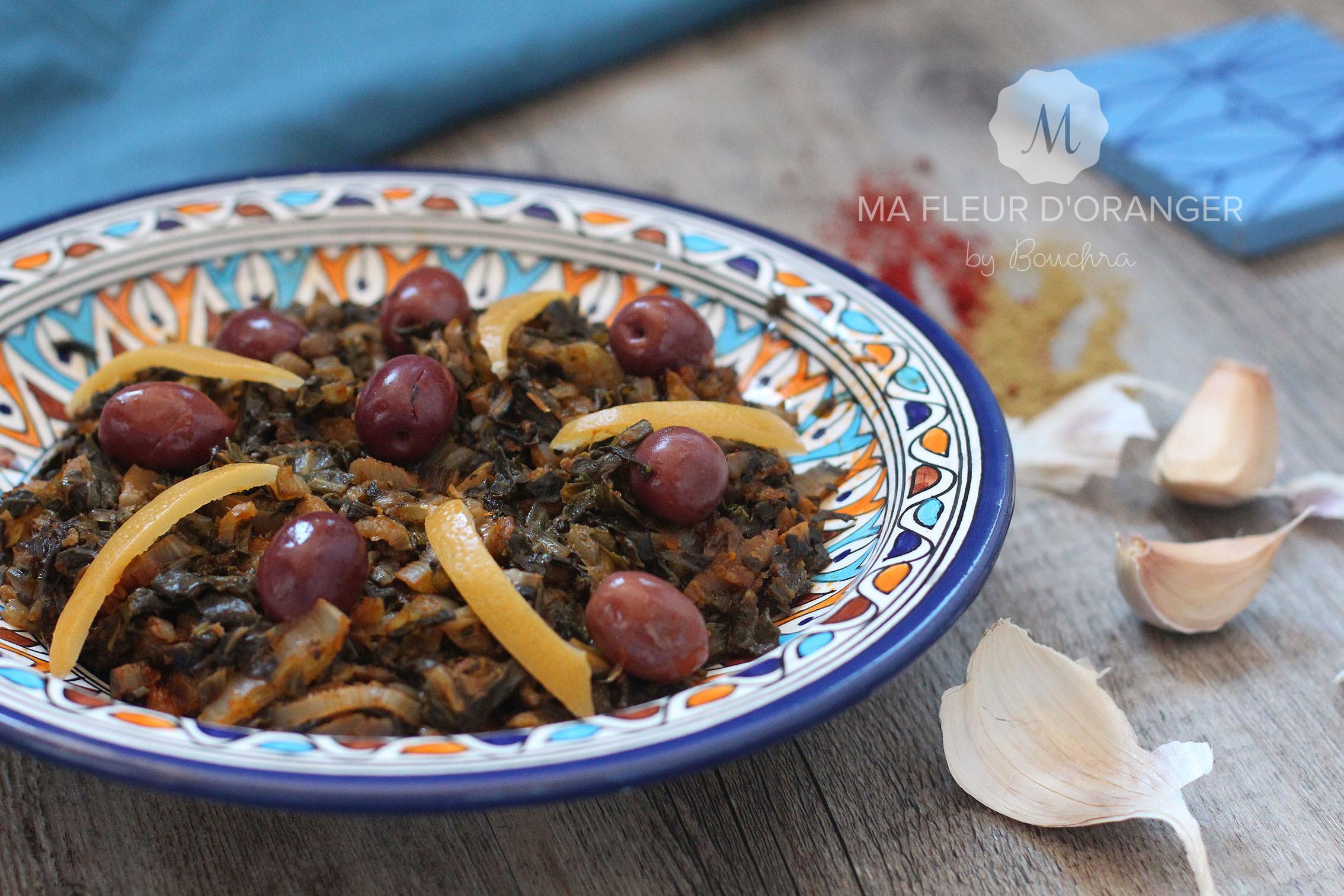 Blettes à la marocaine