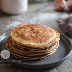 Pancakes au yaourt, rapide et moelleux !