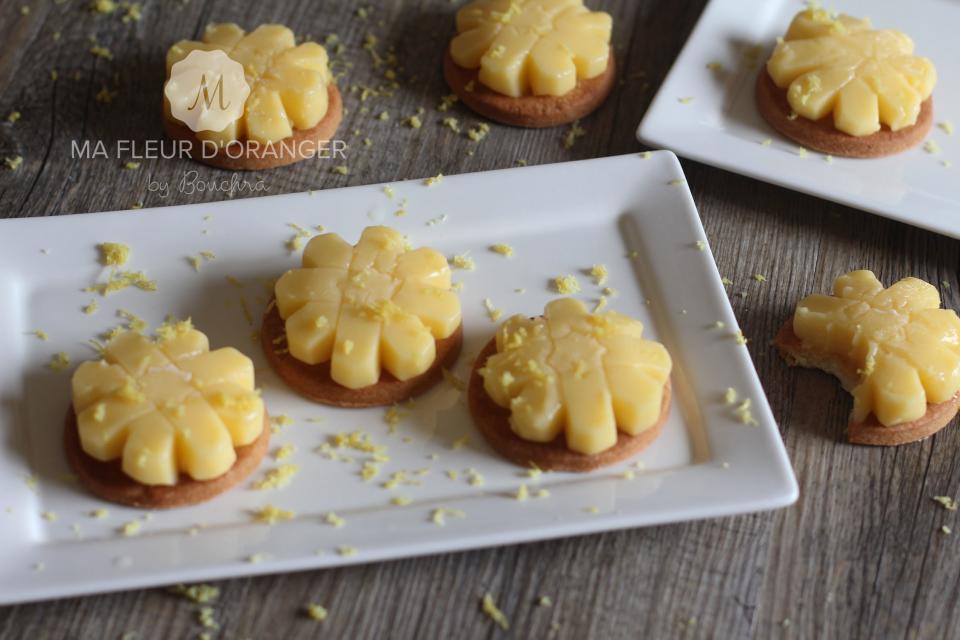mignardises façon tartes au citron