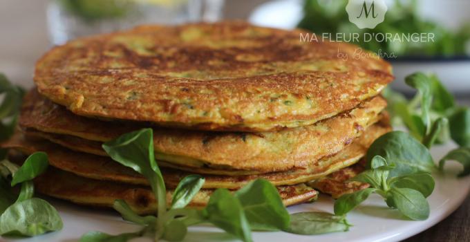 Pancakes aux légumes
